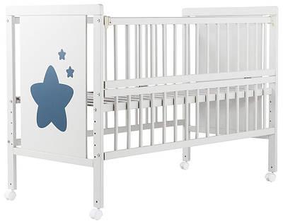 Кровать Babyroom Звездочка Z-01 Бук белый (624466)