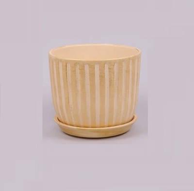 Горшок керамический Кокос Flora 0.6л. Beige (LI10072)
