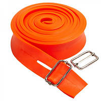Жгут эластичный спортивный, лента жгут Zelart TA-3936-2_5 Orange (LI10079)