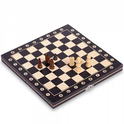 Шахматы настольная игра деревянные W8012 (FL000024)