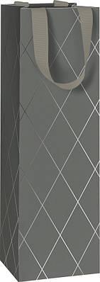 Пакет подарочный Stewo Join Graphic dark grey 11 х 10,5 х 36 cm (2546585167)