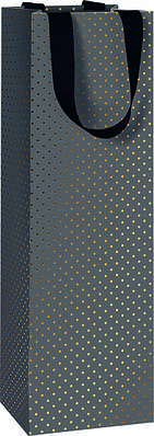 Пакет подарочный Stewo Astor black 11 х 10,5 х 36 cm (2546665170)