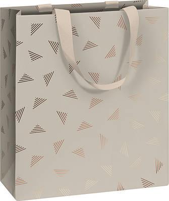 Пакет подарочный Stewo 18 х 8 х 21 cm Join Graphic grey (2543585165)