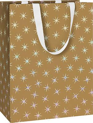 Пакет подарочный Stewo Adaria gold  25 х 13 х 33 cm