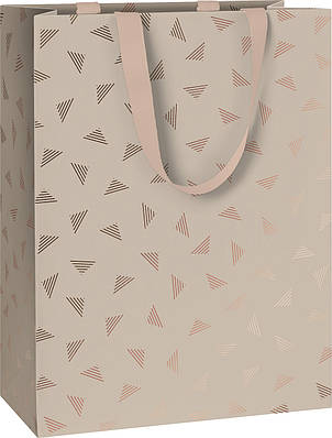 Пакет подарочный Stewo Join Graphic grey 25 х 13 х 33 cm