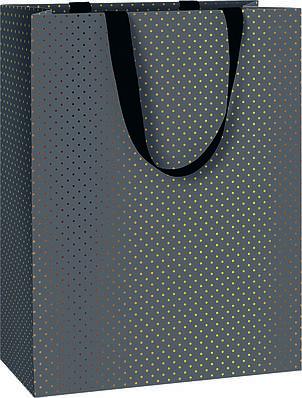 Пакет подарочный Stewo Astor black 25 х 13 х 33 cm