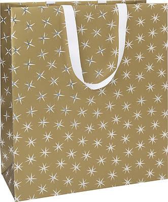 Пакет подарочный Stewo Adaria gold 34 x 14,5 x 40см