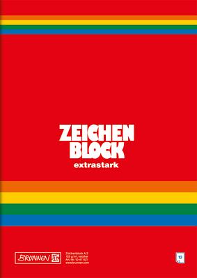 Альбом для рисования Brunnen A2 10 листов 125 г/м2 (1047921)