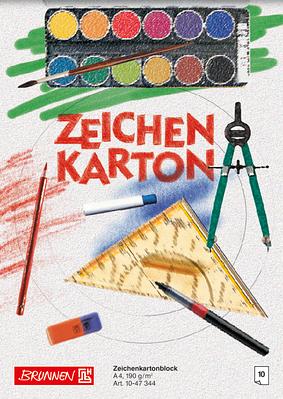 Альбом для рисования А4 Brunnen клеенный блок обложка офсетный картон 190 г/м2 10 листов (1047344)