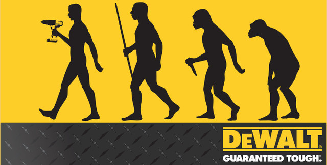 DeWalt эволюция