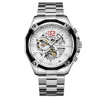 Forsining GMT 1183 Silver-White, фото 1