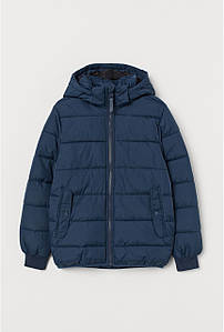 Куртка демисезонная для мальчика синяя H&M р.152см (11-12лет)