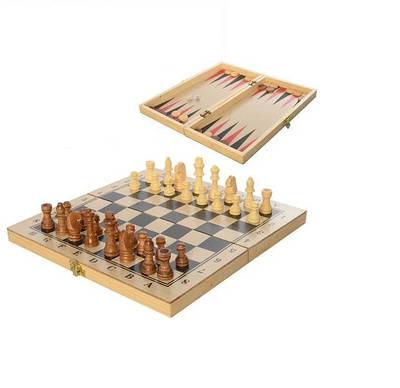"Шахматы ""3 в1"" Bambi YT29A-B (LI10312)"