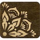 Шкатулка для Рукоделия с Деревянной Крышкой 5.5х6х4.5см Упак.: 1 шт, фото 4