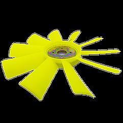 Крыльчатка вентилятора ЯМЗ-236, ЯМЗ-238  (пластик, d=540 мм, 10 лопастей)