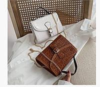 Модные сумки бежевые, фото 1