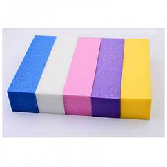 Баф для Ногтей 4-х Сторонний, Размер: 13.5см, Цвет: Белый, 1 шт