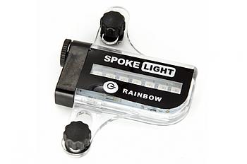 Подсветка на спицы колеса BC-L02A LED с датчиком движения, питание 1*ААА