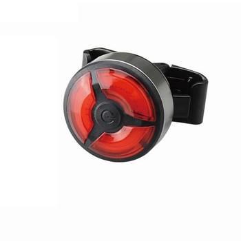Фонарь велосипедный габаритный задний круглый BC-TL5480 LED USB Красный (LTSS-044)