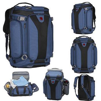 Сумка-рюкзак, Wenger Weekend Lifestyle, SportPack , синий (606487)