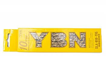 Цепь велосипедная на 10 скоростей с замком 116 звеньев Gold YBN SLA-H10 (CHA-243)