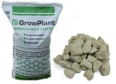 Субстрат для орхидей Пеностекло универсальный GrowPlant 5-10 мм 50 л