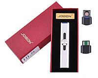 USB зажигалка в подарочной упаковке Jobon HL-8 Спираль накаливания