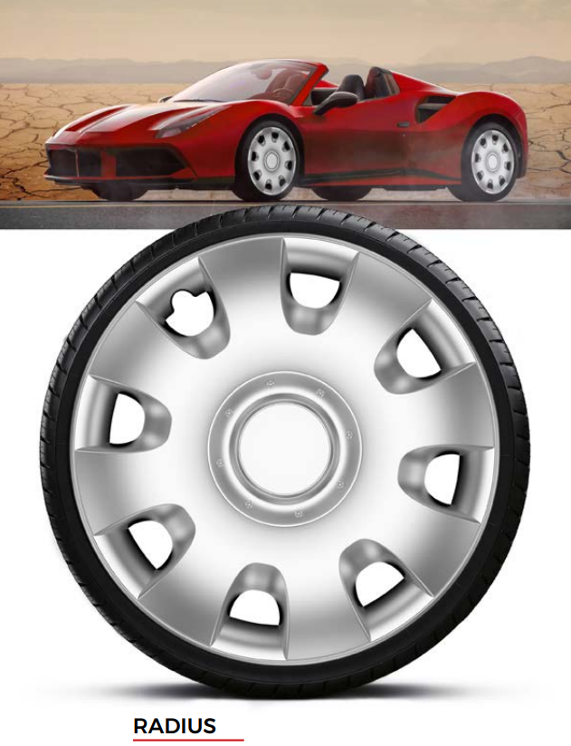 Колпаки колесные Radius R15