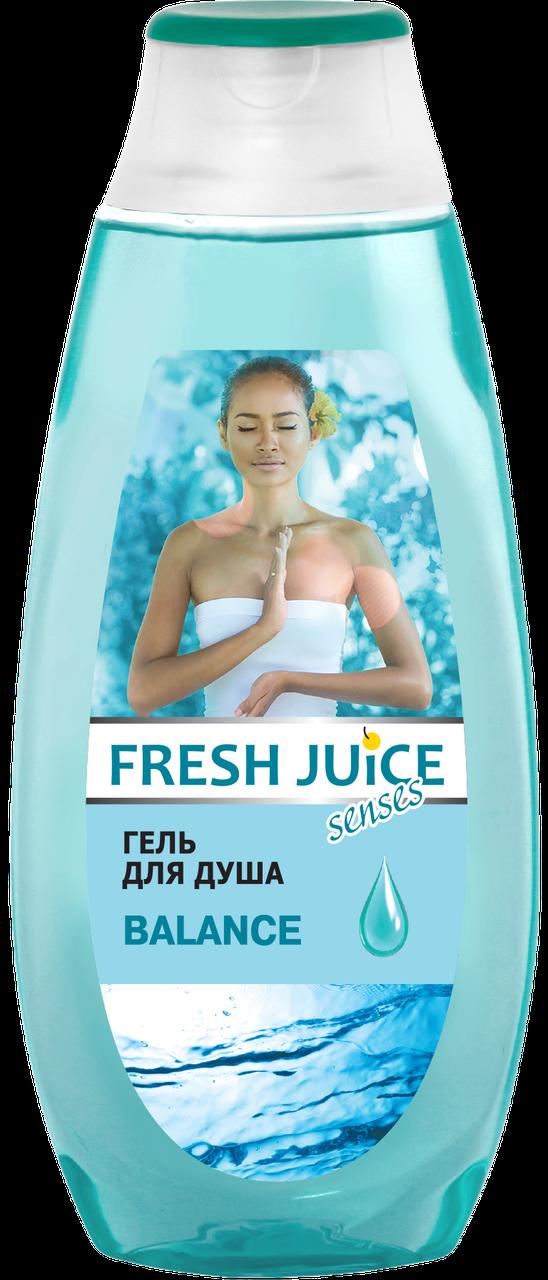 Гель для душа Balance. 400 мл Fresh Juice