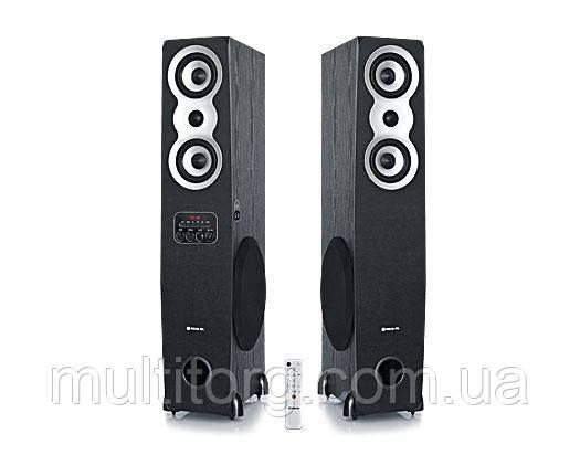 Колонки 2.0 REAL-EL S-2020 уценка (Bluetooth, USB flash, FM, Karaoke, ДУ)