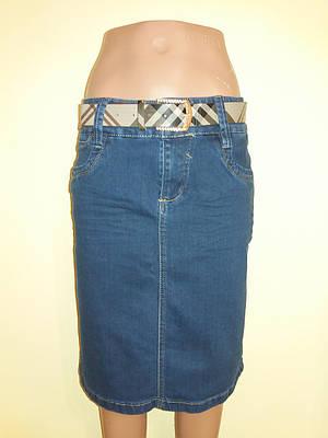 Спідниця джинсова жіноча Gourd р. 44 Синій(ю351)