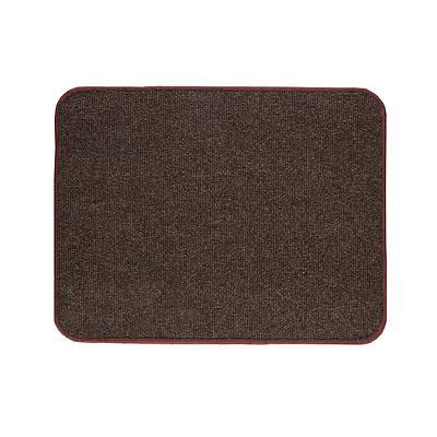 Электрический коврик с подогревом Теплик с термо и гидроизоляцией 50 х 40 см Темно-коричневый (UA5040THB)