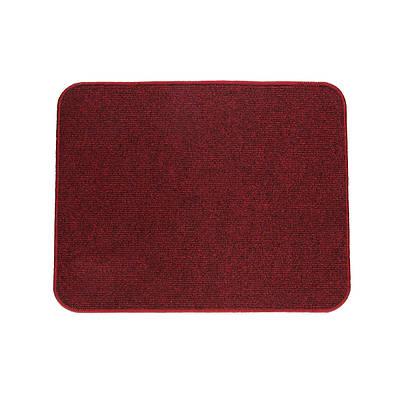 Электрический коврик с подогревом Теплик с термоизоляцией 50 х 40 см Темно-красный (UA5040TR)