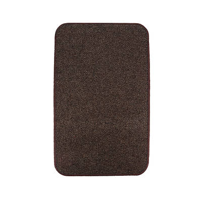 Электрический коврик с подогревом Теплик двусторонний 50 х 30 см Темно-коричневый (UA5030DB)