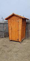 """Туалетная кабинка из дерева """"Дачник"""""""