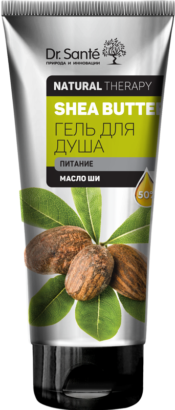 Гель для душа SHEA BUTTER 200 мл Dr.Sante Natural Therapy