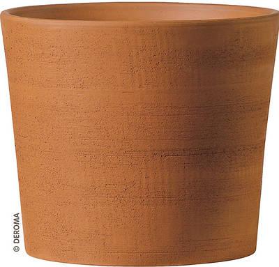 Горшок для растения Deroma Цилиндр 21 х 25 см Коричневый (000002934)