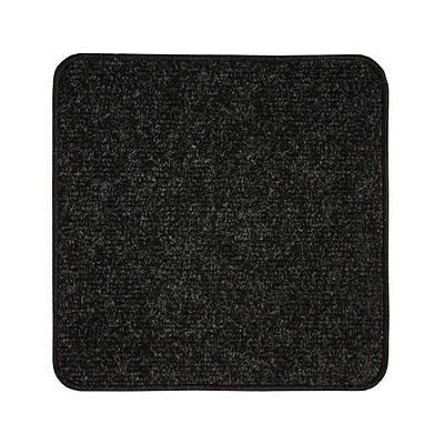 Электрический коврик с подогревом Теплик 50 х 50 см с термоизоляцией и выключателем Черный (bt002320)