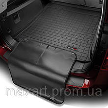 Коврик в багажник для Porsche Cayenne 2010- черный с накидкой без саба 40487SK 40487SK