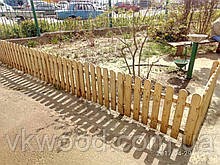 Дерев'яний забор (паркан) Забор деревянный 40 мм