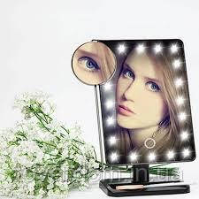 Дзеркало настільне з підсвічуванням LED – бренд Large Led Mirror