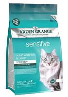 Корм беззерновой для кошек с чувствительным желудком Arden Grange Adult Sensitive