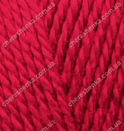 Нитки Alize Extra 106 темно-красный