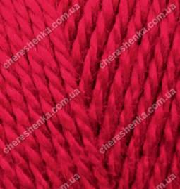 Нитки Alize Extra 106 темно-красный, фото 2