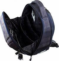 Набір рюкзак шкільний в 1-4 клас ортопедичний для хлопчика пенал і сумка для взуття Динозав DeLune 7-151, фото 3