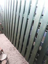 Забор декор садовий (штакетник) /Забор декоративный 40 мм - штакет