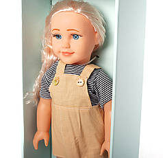 """Детская пластиковая кукла с набором аксессуаров """"Our Dream"""" в сарафане HC318874"""
