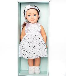 """Детская пластиковая кукла с набором аксессуаров """"Our Dream"""" в белом платье HC318873"""