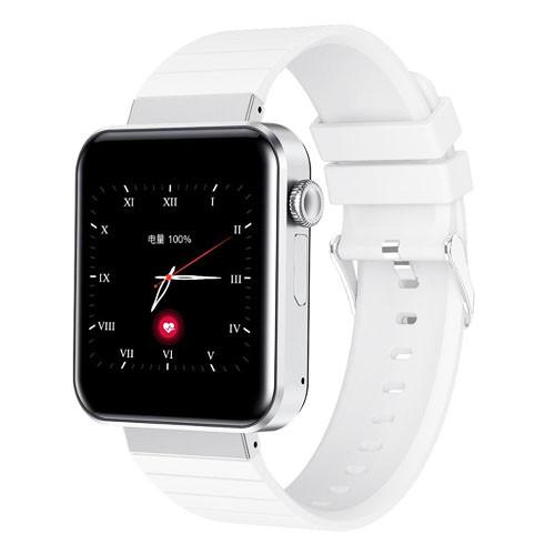 Смарт часы Smart Watch Mi5 pro, Sim card + камера, температура, умные часы цвет white