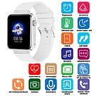 Смарт часы Smart Watch Mi5 pro, Sim card + камера, температура, умные часы цвет white, фото 4